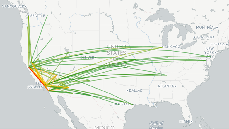 Southwest Flight Tracking