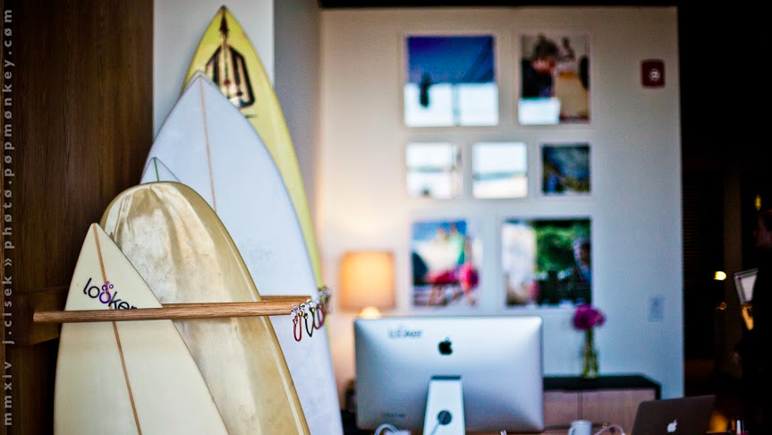 The Surf Rack at Looker HQ