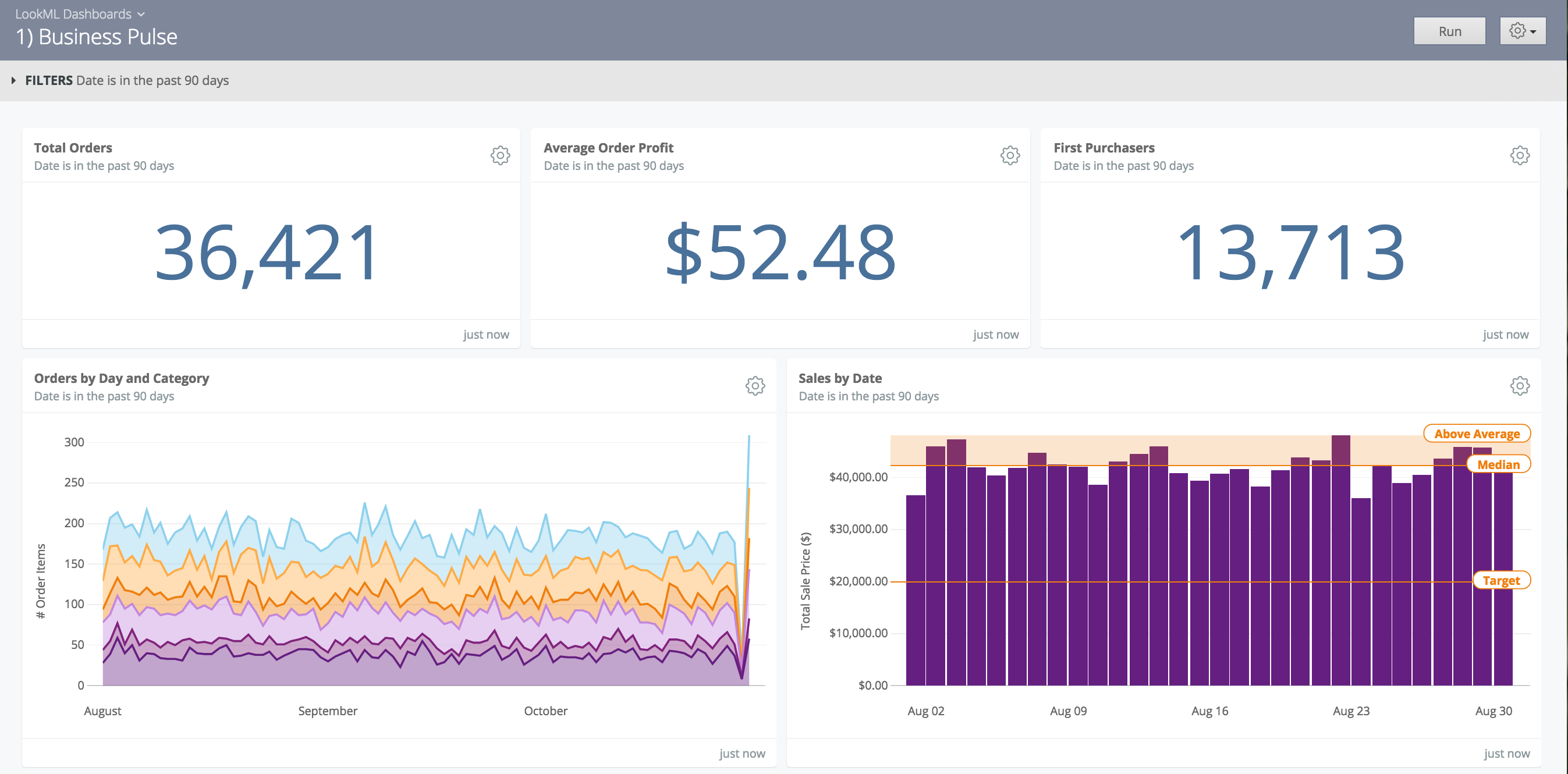 Business Pulse Dashboard